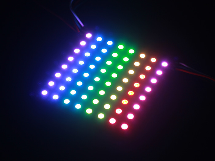 8*8 RGB LED Matrix w& WS2812B - DC 5V